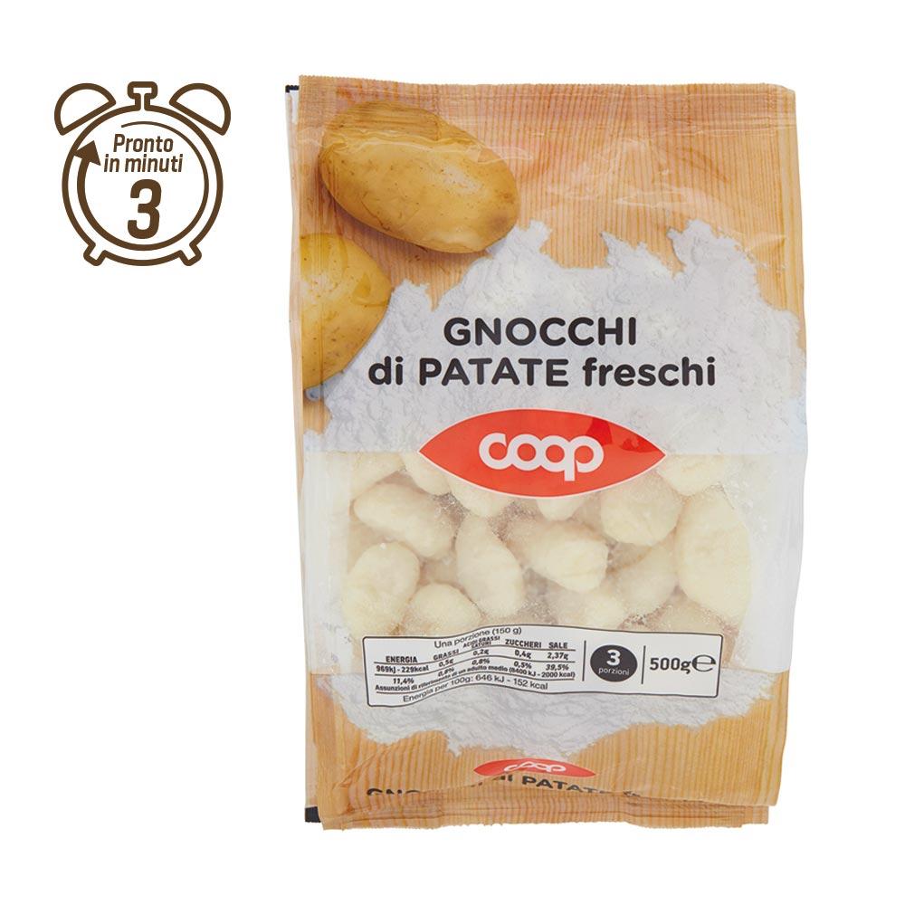 GNOCCHI DI PATATE FRESCHI COOP