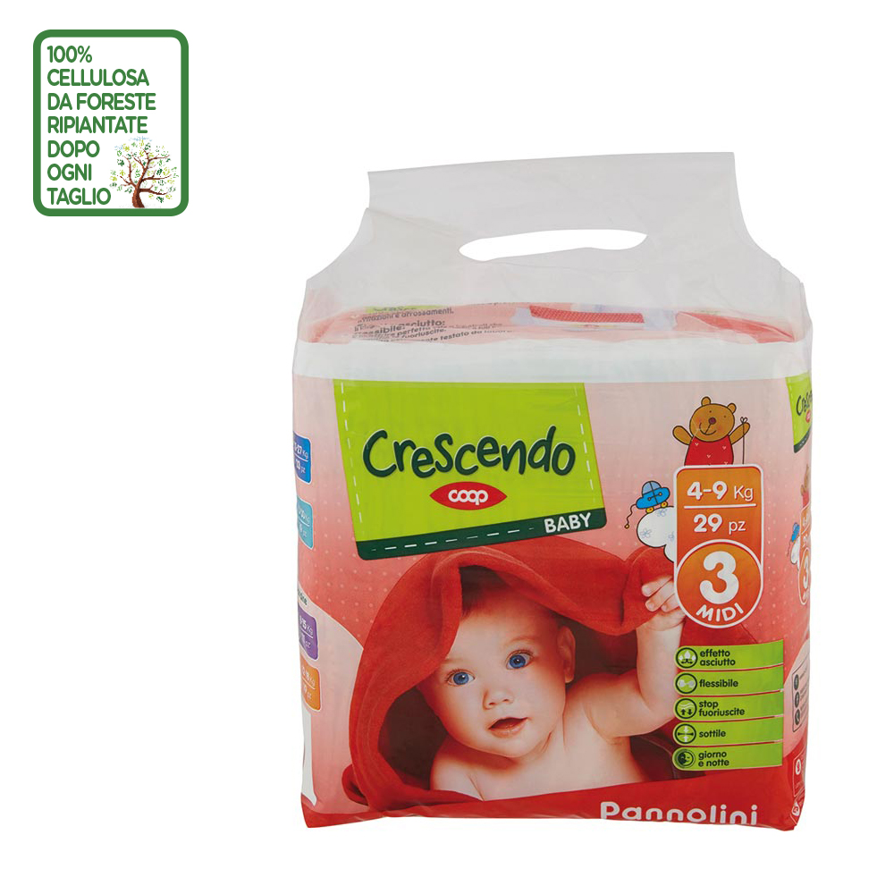 PANNOLINI CRESCENDO COOP