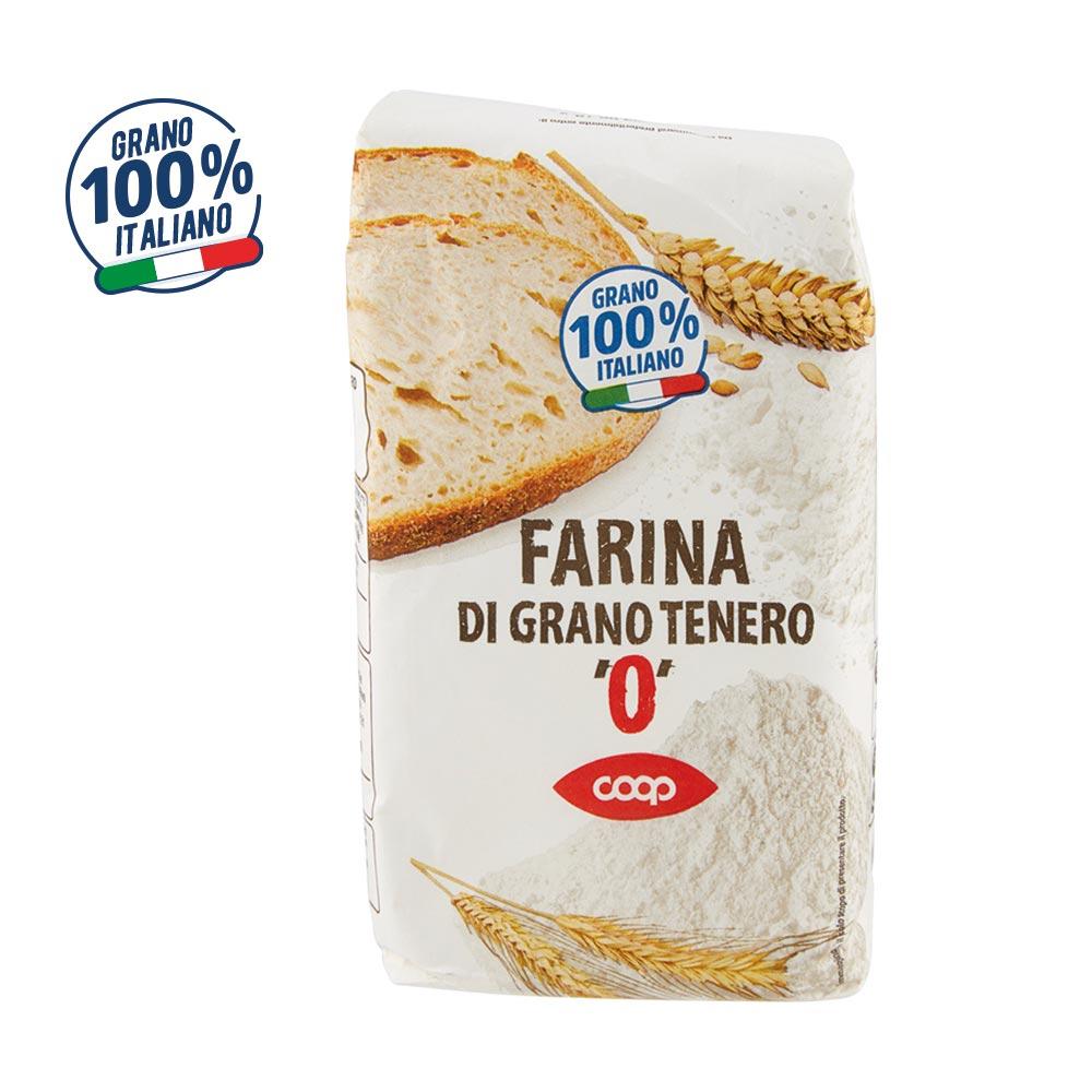 FARINA GRANO TENERO 0 COOP