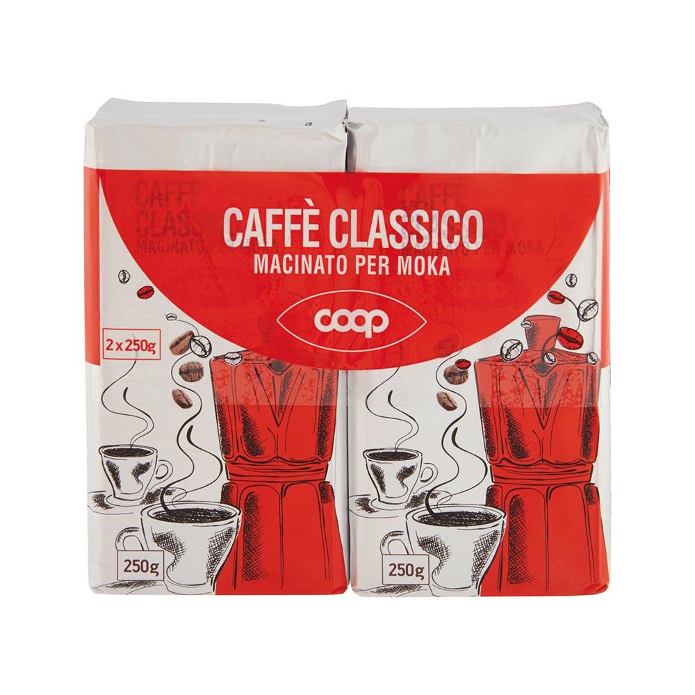 CAFFÈ CLASSICO PER MOKA COOP